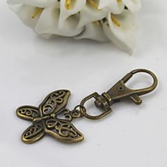 muoti unisex retro metalliseos kovertaa perhonen riipus avaimenperiä