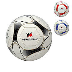 Slitasje-sikker/Ikke-formbar/Holdbar - Soccers (Rød/Svart/Blå , PVC)