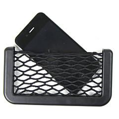 Car Net Organizer Pockets Car Storage Net 14.5X8cm Automotive Bag Box Adhesive Visor Car Bag For Tools Mobile Phone