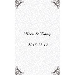 billige Klistremerker og etiketter-Bryllupsinvitasjoner Flat Kort Personalisert