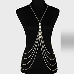 tanie Piercing-Łańcuch nadwozia / Belly Chain Unikalny, Imprezowa, Na co dzień Damskie Złoty Biżuteria Na Impreza