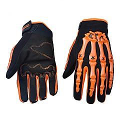 tanie Rękawiczki motocyklowe-Rękawice motocyklowe Z palcami Nylon/Lycra/ABS M/L/XL Zielony/Niebieski/Pomarańczowy