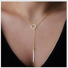 נשים שרשראות הצהרה סגסוגת אופנתי תכשיטים תכשיטים עבור Party יומי קזו'אל