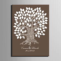 E-HOME® Personalized Signature Canvas Frame-Tree