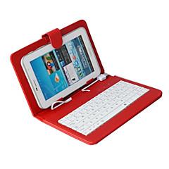 billige Nettbrettetuier-dgz universell tastatur og case for 7-tommers Andriod tabletter