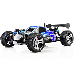 cheap Drones & Radio Controls-RC Car WLtoys A959 2.4G Buggy (Off-road) / Drift Car / High Speed 1:18 50 km/h Remote Control / RC / Rechargeable / Electric