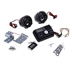 motorfiets motor audiosysteem mp3 luidsprekerversterker fm / sd / mmc zwart