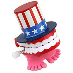 creatieve tandheelkundige uurwerk speelgoed