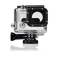 tanie Kamery sportowe i akcesoria GoPro-etui Wodoszczelna obudowa Wodoodporne Dla Action Camera Gopro 3 PVC