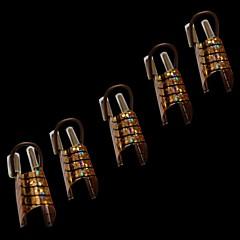 Χαμηλού Κόστους Έντυπα νυχιών-10pcs Εργαλείο νυχιών τέχνη νυχιών Μανικιούρ Πεντικιούρ Κλασσικό Καθημερινά