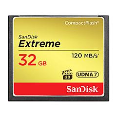 baratos Cartões de Memória-SanDisk 32GB Compact Flash  CF Card cartão de memória EXTREME 800X
