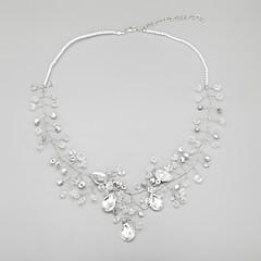 abordables -Femme Cristal Perle imitée Imitation de perle Alliage , Mariage Anniversaire Fiançailles