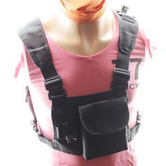 tanie Akcesoria do GoPro-Pasek na klatkę piersiową Podwójny pasek przez ciało Pasek na ramię Na ramiączkach Wodoodporne Dla Action Camera Gopro 6 Wszystko Gopro 5