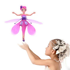 cheap Drones & Radio Controls-RC Helicopter Hovering Angel 2ch Hover / Remote Control Remote Control / RC / Flying Fairy Princess / Rainbow light