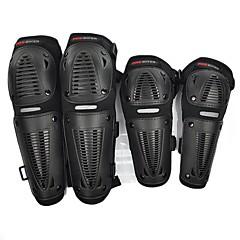 tanie Wyposażenie ochronne-pro-rowerzysta Wyścigi motocyklowe sport łokci / kolan ochraniacze strażnicy zestaw