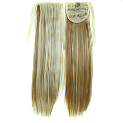 cheap Wigs & Hair Pieces-Clip In Ponytails Synthetic Hair Hair Piece Hair Extension Straight