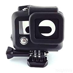 tanie Kamery sportowe i akcesoria GoPro-gładka Rama etui Wygodny Dla Action Camera Gopro 3 Silikonowy