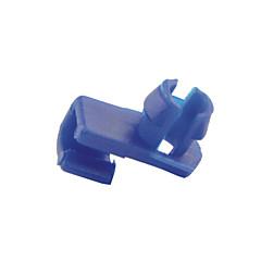 100 buc 6mm plastic masina auto gaură dia usi de fixare cleme capăt de bară de blocare