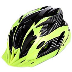 baratos Capacetes de Ciclismo-Capacete de bicicleta 18 Aberturas Ajustável, Montanha, Urbana PVC, EPS, PC Ciclismo de Estrada / Ciclismo de Lazer / Ciclismo / Moto