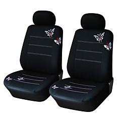 autoyouth par bøtte butterfly brodert bil setetrekk universal fit mest bil dekker tilbehør setetrekk