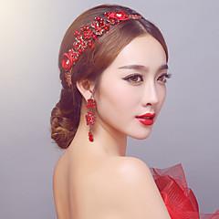 cheap Party Headpieces-Rhinestone Alloy Headbands Headpiece Classical Feminine Style