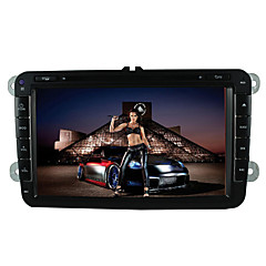 cheap Car DVD Players-8 inch Analog TV 800 x 480 Volkswagen GPS Map car DVD player
