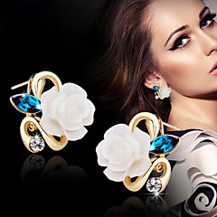 cheap -Women's Stud Earrings - Flower For Wedding Party Daily