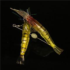 billiga Fiskbeten och flugor-10 st Fiskbete Mjukt bete Mjuk plast Sjöfiske Kastfiske Isfiske Spinnfiske Jiggfiske Färskvatten Fiske Andra Trolling & Båt Fiske