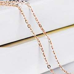 Women's Chain Necklaces Cross Gold Costume Jewelry Jewelry For Wedding Party Daily Casual