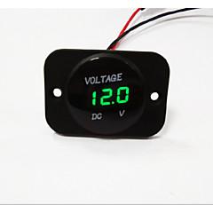 lossmann bil motorcykel førte digitale display voltmeter vandtæt