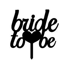 Kakepynt Ikke-personalisert Monogram Harpiks Bursdag / Bryllup / Jubileum / Bridal Shower SvartStrand Tema / Hage Tema / Asiatisk Tema /