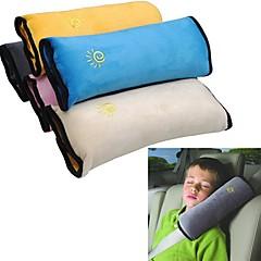 ziqiao baby bil bilbelte beskytte skulderpute justere bilens sikkerhetsbelte pute for barn barn (tilfeldige farger)