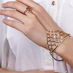 abordables -Chaînes & Bracelets Original Mignon Soirée Mode Alliage Autres Bijoux Soirée Cadeau Valentin Bijoux de fantaisie Or