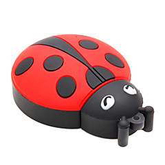 zpk15 16gb kever coccinellaseptempunctata cartoon usb 2.0 flash-geheugen u de stok