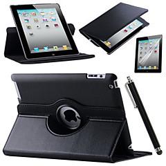For iPad (2017) Retina iPad 360 Rotating Stand Flip Smart PU Leather Case For iPad Pro 9.7 Air 2 iPad 2/3/4 mini 123