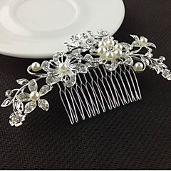 metalliseos hiukset kampa hiustyökalu päähine klassinen naisellinen tyyli