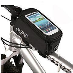 お買い得  自転車用バッグ-携帯電話バッグ / 自転車用フレームバッグ 4.2/4.8/5.5 インチ タッチスクリーン サイクリング のために iPhone X / 他の同様のサイズの携帯電話