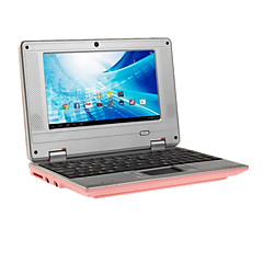 7 Inch Android 4.4 Netbook ARM 1G+8G 0.3MP Cortex-A9@1.5GHZ Dual Core Tablets USB TF HDMI (Assorted Colors)