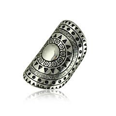 指輪 女性用 / 男性用 ストーン無し 合金 合金 7 / 8 / 9 銀 色とスタイルの表現は、モニターによって異なる場合があります.誤植または絵のエラーの責任を負いません.