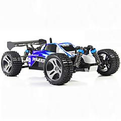 WL Toys A959 Carroça 1:18 Electrico Escovado Carro com CR 45 2.4G Pronto a usarCarro de controle remoto Controle Remoto/Transmissor