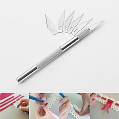 billige Bakeredskap-frukt skulptur kniv carving bakverk kniv kake dekorasjon verktøy skjære modell