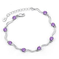 Dames Armbanden met ketting en sluiting Kostuum juwelen Verzilverd Sieraden Voor Bruiloft Kerstcadeaus