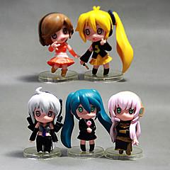 אחרים Hatsune Miku PVC נתוני פעילות אנימה צעצועי דגם בובת צעצוע