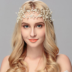 Χαμηλού Κόστους -μαργαριτάρι headbands headpiece γάμο κόμμα κομψό θηλυκό στυλ