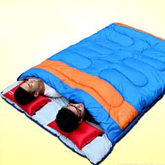 billiga Sovsäckar, madrasser och liggunderlag-Shamocamel® Sovsäck Utomhus Dubbel 10°C Dubbelbredd Håller värmen Vattentät Vindtät Damm säker Tjock för Vår Höst Vinter