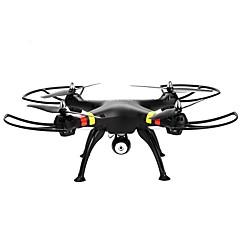 billige Fjernstyrte quadcoptere og multirotorer-RC Drone SYMA X8C 4 Kanaler 6 Akse 2.4G Med HD-kamera 2.0MP Fjernstyrt quadkopter Hodeløs Modus / Flyvning Med 360 Graders Flipp / Styr Kamera Fjernstyrt Quadkopter / Fjernkontroll / Sveve / Sveve