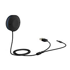 kit mãos livres bluetooth carro multifuncional e receptor de música Bluetooth