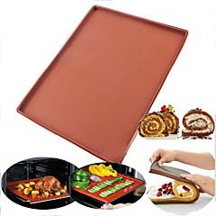 billige Bakeredskap-non-stick silikone swiss roll pad ovns mat baking kake panne bakeware bakeverktøy