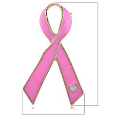 billige -Sommeren smykker vintage rosa brosje for kvinner