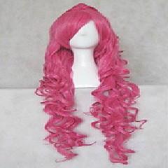 billige Kostymeparykk-Syntetiske parykker / Kostymeparykker Bølget / Naturlige bølger Syntetisk hår Parykk Dame Cosplay-parykk / Kostyme Parykk / Festparykk